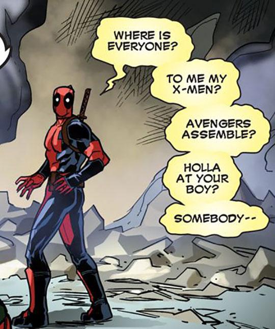 funny-comic-deadpool-alone-avengers